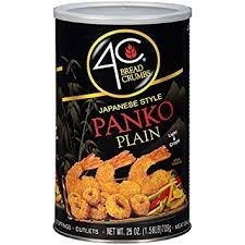 4C Japanese Style Panko Plain Light & Crispy Bread Crumbs (( 1 can) (25oz)