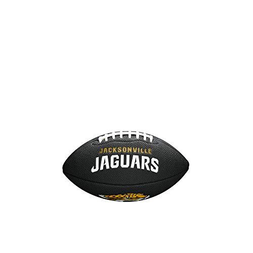 Wilson Unisex-Youth MINI NFL TEAM SOFT TOUCH FB BL JX American Football, BLACK,