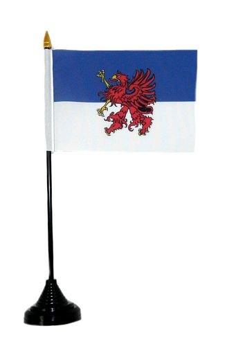 Fahne / Tischflagge Pommern Tischfahne Flagge