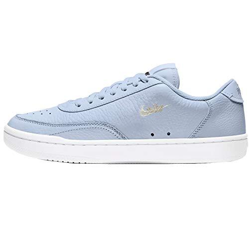 Nike Damen Court Vintage PRM Sneaker, Ghost/SAIL-FOSSIL-White, 40.5 EU
