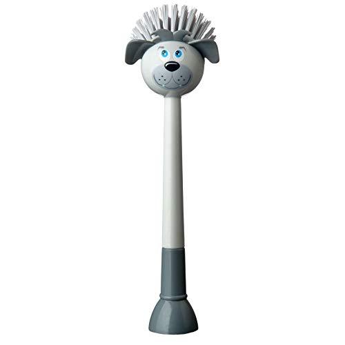 Spülbürste ''Hund'' - grau   Küchenbedarf   Hilfsutensil   säubern von Geschirr   Reinigen der Spüle   Abwaschbürste   Neue Wohnung   Preis am Stiel®