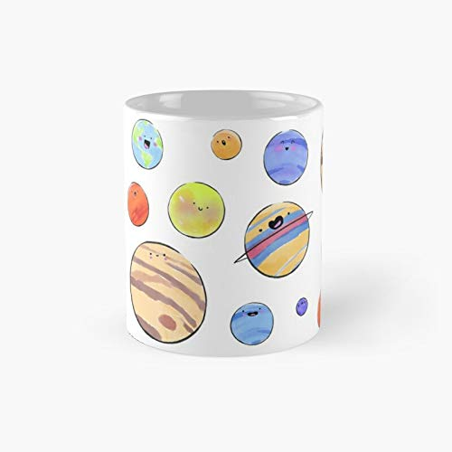 Planet Pack Taza clásica Best Funny Coffee 11 oz para oficina y hogar