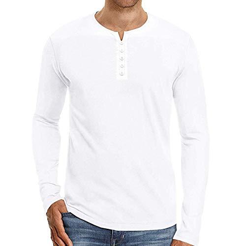 Camiseta de Manga Larga de Talla Grande para Hombre de, Ropa de Hombre