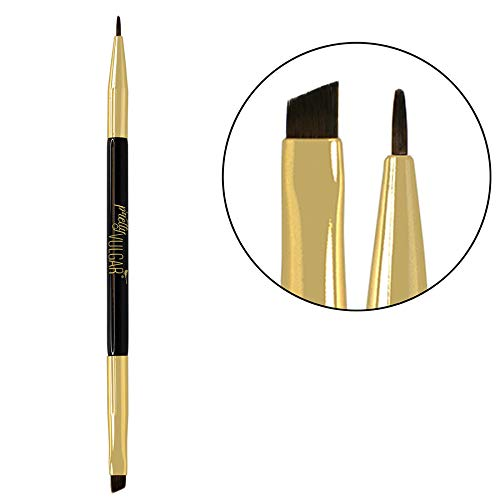 Pretty Vulgar Liner Duo Brush: The Wing Master (dual sided eyeliner brush) - Cruelty-Free