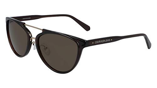 Calvin Klein JEANS EYEWEAR CKJ19518S gafas de sol, marrón, 5717 para Mujer