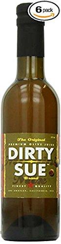 6-Pack Dirty Sue Premium Olive Juice Martini Mix 375ML (12.69oz)