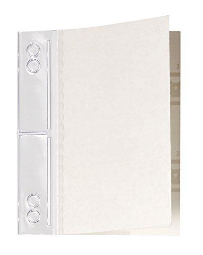 Durable 806919 Filefix Maxi Selbstklebende Abheftstreifen, Beutel a 10 Stück 60 x 100 mm, transparent