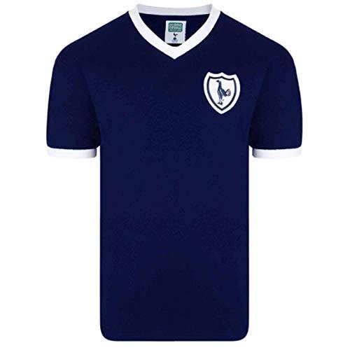 Tottenham Hotspur Spurs 1960's Retro Soccer Shirt by Scoredraw (100% Cotton)