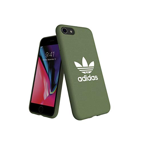 adidas Originals Adicolor - Carcasa para iPhone 8, 7, 6S, 6, 6, 6, Color Verde