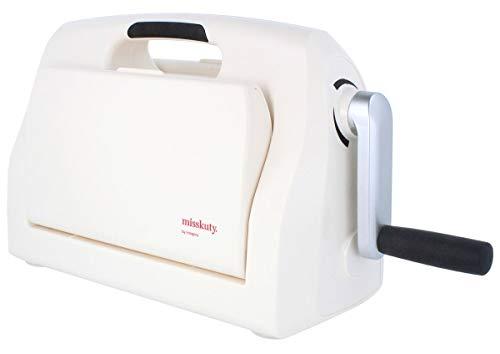 MISSKUTY Máquina para troquelar y repujar L boca 22,5cm, compatible con troqueles de Sizzix