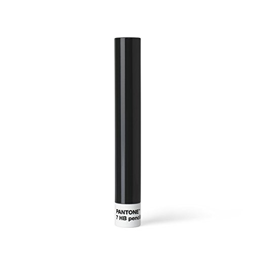 Pantone 101400446 Boîte métal 7 Crayons, Gris 446, 3,6 x 3,6 x 18,5 cm