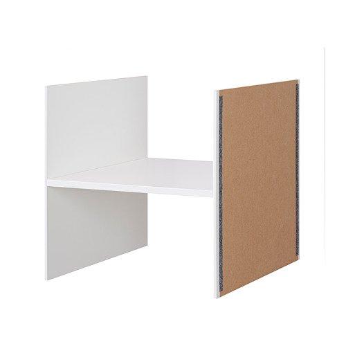 Unbekannt IKEA KALLAX Einsatz mit 1 Boden; in weiß; (33x33cm)