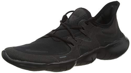 Nike Free RN 5.0, Scarpe da Corsa Uomo, Black/Black/Black, 42.5 EU