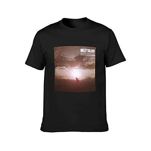 Camiseta de manga corta para hombre Billy Talent Rock Tee para mujer Hiphop Shirts