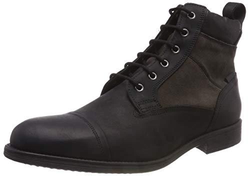 Geox Herren U Jaylon J Chukka Boots, Schwarz (Black C9999), 44 EU