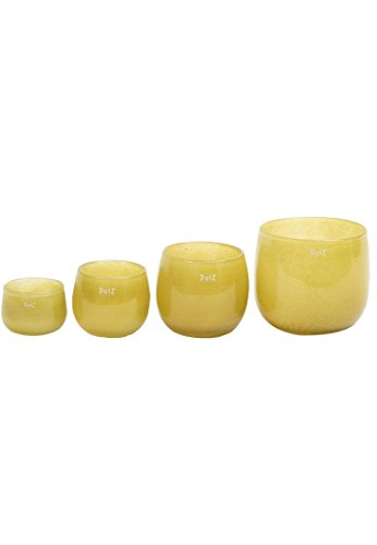 Dutz Collection Pot Farbe Mustard, Größe:H7 / D10 cm