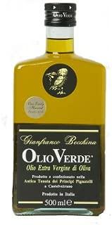Olio Verde Sicilian Extra Virgin Olive Oil Harvest 2010, 16.9-Ounce Bottle (Pack of 2)