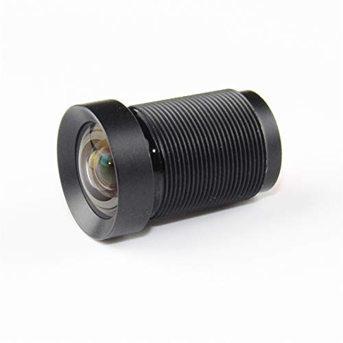 SSXPNJALQ Lente 4K Lens 10MP Telecamera per Fotocamera Azione 4.35mm Lente M12 1/2.3'Filtro IR Filtro per Hero 4/3 + Xiaomi Yi 4K + SJCAM DJI Phantom Drones UAVS