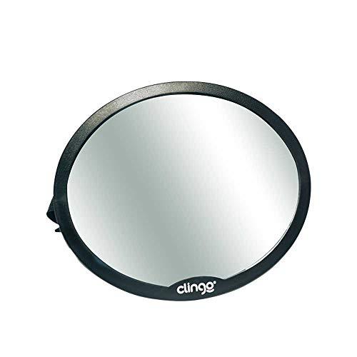 Espelho Retrovisor Redondo Carro Round, Clingo, Preto