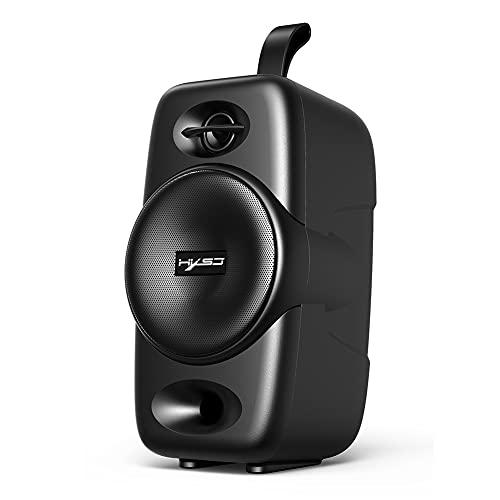 Altavoces Bluetooth, Q8 Altavoz Portátil Bluetooth 10W Sonido Bajo TWS Altavoz Inalámbrico con Micrófono
