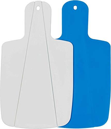 Kitchen Helpis® Tabla de Cortar Plegable, Set de 2 (azul y