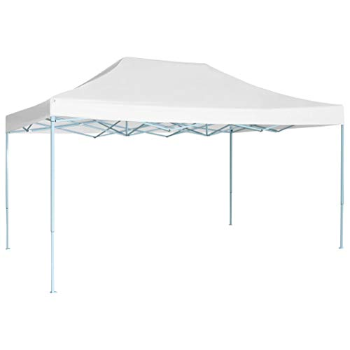 Lechnical Foldable professional party tent Gazebo Garden pavilion Waterproof UV protection pavilion for garden patio celebration 3 x4 m steel White