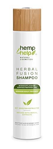 Hemp4Help Shampoo 250 ml - equilibrio per cuoio capelluto secco, pruriginoso, forfora o psoriasi - delicato per tutti i tipi di capelli marchio senza solfati e parabeni