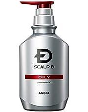 スカルプD シャンプー メンズ オイリー 脂性肌用 医薬部外品 アンファー (ANGFA) 薬用シャンプー スカルプシャンプー ノンシリコン 男性用 350ml