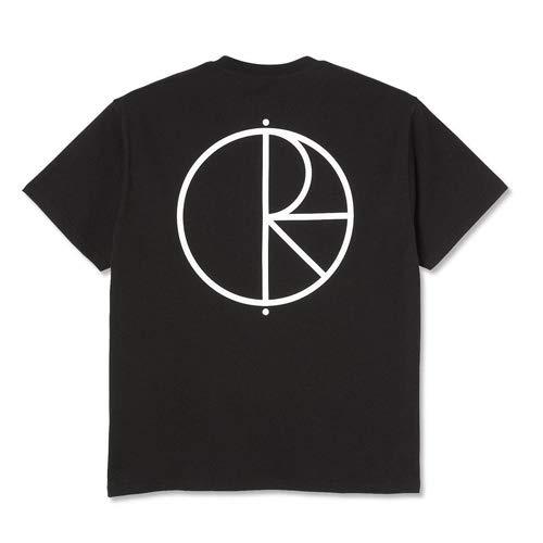 ポーラー POLAR SKATE CO. STROKE LOGO TEE BLACK S-XL 半袖TEE (M)