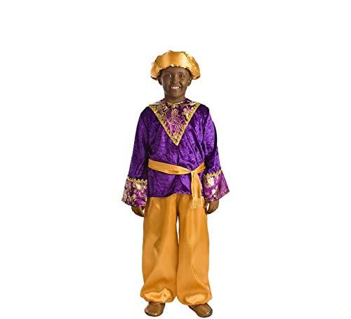 Disfraz de PAJE Baltasar Violeta Infantil G2-(8/10 años)