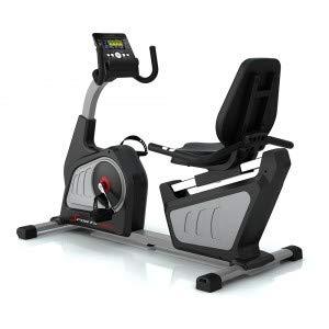 Sportstech ES600 Cyclette ergometro reclinabile Professionale - Marchio di qualità Tedesco - Eventi Video & Mulitplayer App & Sistema autogenerante, Cintura Pulsazioni Opzionale, HRC, Supersilenziosa