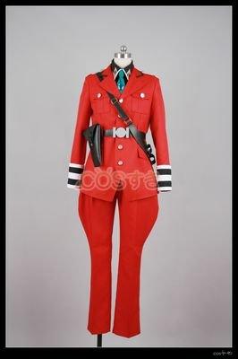 『コスプレ 戦う司書 ミレポック=ファインデル コスプレ衣装アニメコスチューム』のトップ画像