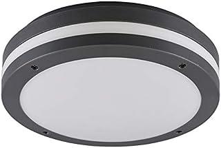 Reality lampor LED utomhus taklampa Kendal R62151142, plast antracit/vit, inkl. 12 W LED
