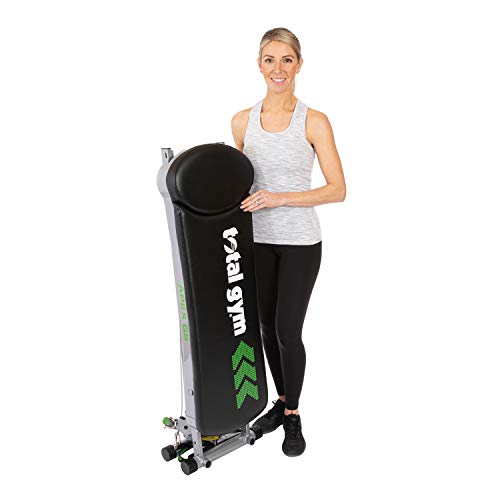 Total Gym APEX G5 Versatile Indoor Home Workout Total Body Strength Training Fitness Equipment with 10 Levels of Resistance and Attachments
