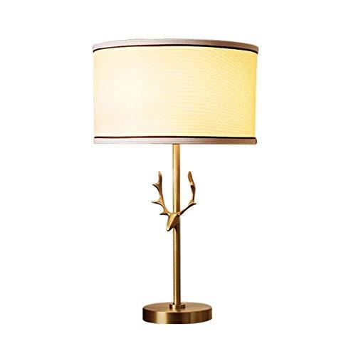 WLP-WF Schreibtischlampen, Tischlampe, Minimalistische Schlafzimmerleuchte Aus Leinen, Moderne Ledertisch-Schreibtischlampe Mit Stoffschirm Für Schlafzimmer, Wohnzimmer, Kinderzimmer, Büro