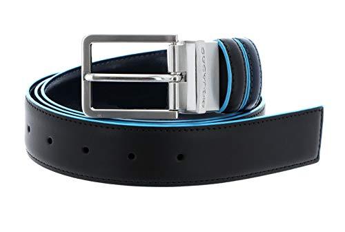 Piquadro Cintura blue square double face CU2619B2 nero/blu2