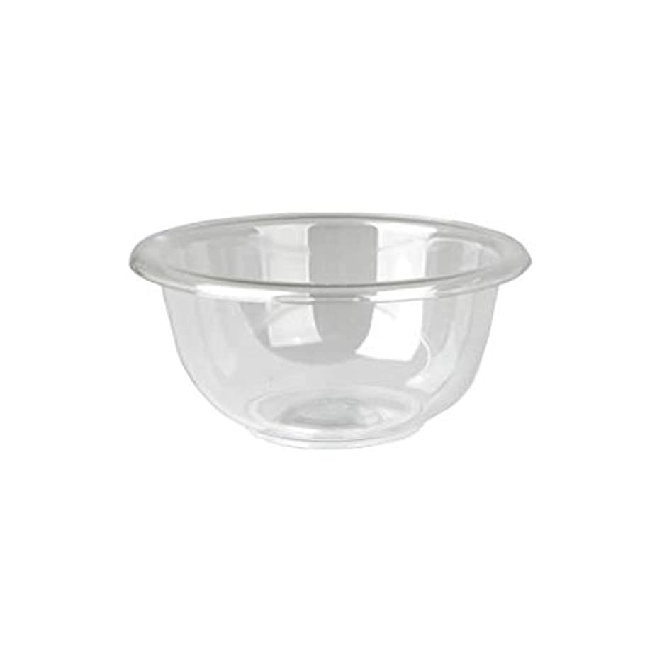 スキャンダラス申し立てられたアカウントマイスター プラスティックボウル (Mサイズ) クリア 直径17cm [ プラスチックボール カップボウル カップボール エステ サロン プラスチック ボウル カップ 割れない ]