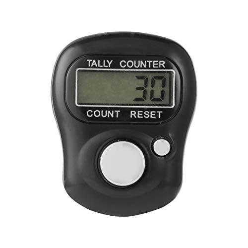 Mini portátil de 5 dígitos Lcd pantalla electrónica Digital Universal Hand Held Finger Ring Contador de cuentas para deportes al aire libre