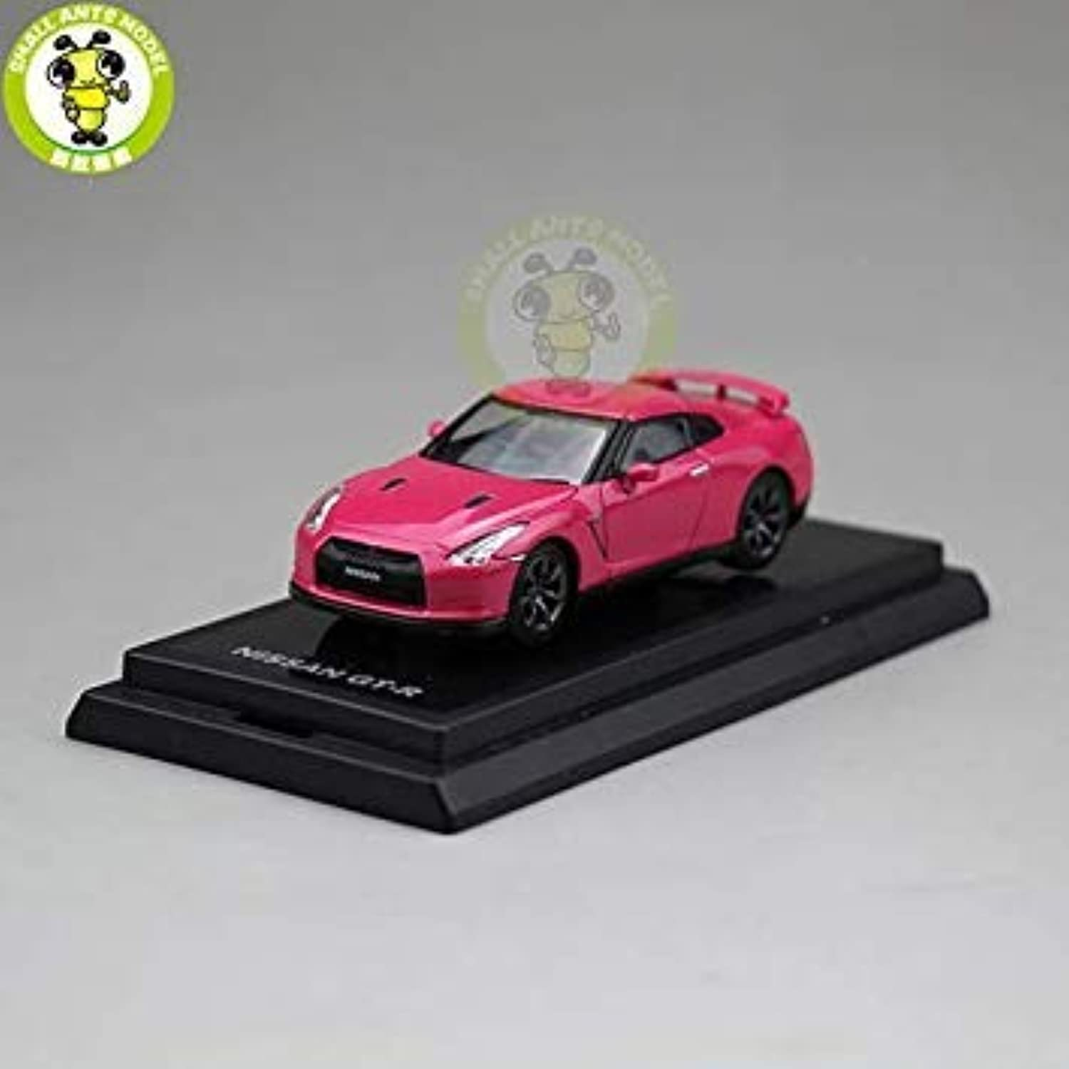 1 64 Nissan GTR GT R R35 Racing Sport Car Diecast Metal Car Model Toy Gift Hobby Collection Pink