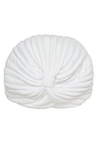 TOOGOO(R) Cappello da donna con cappuccio Yoga cappello stretto da turbante bianca