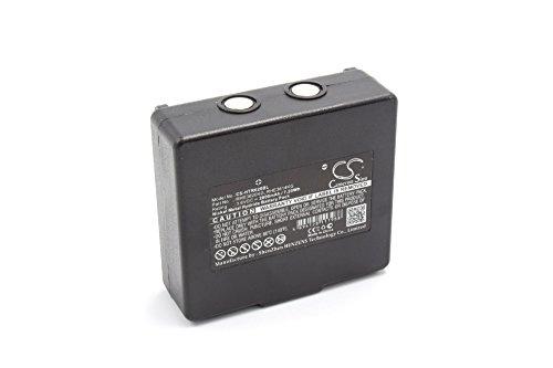 vhbw NiMH Akku 2000mAh (3.6V) für Kran-Fernbedienung Remote Control wie Hetronic 68300900, 900, HE900, KH68300990, Mini EX2-22, RHE3614KG, RHE3620KG