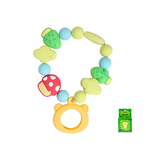 Mosquito Repellent Bracelet Chain DIY Baby Maternity Outdoor Mosquito Buckle, Beaded Mosquito Repellent Wristband,Mushroom