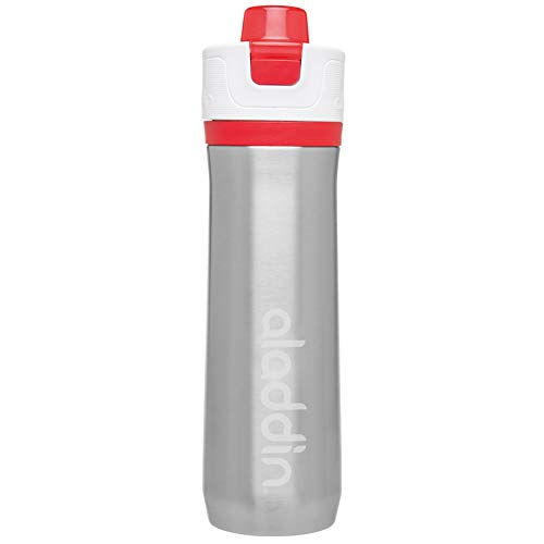 Aladdin Bouteille Isotherme 0l6 en INOX Active Rouge