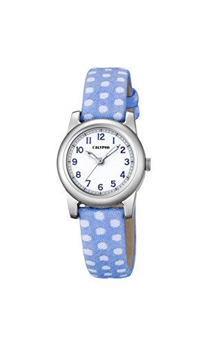 Calypso Reloj Análogo clásico para niñas de Cuarzo con Correa en Tela K5713/4