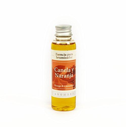 Esencia de Ambiente de 60ml para Brumizadores y Quemadores Aroma Canela y Naranja