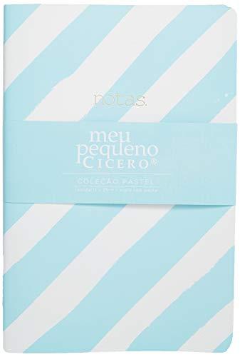 Caderneta Costurada Meu Pequeno, Cicero, 6443, Azul, Médio (14X21)