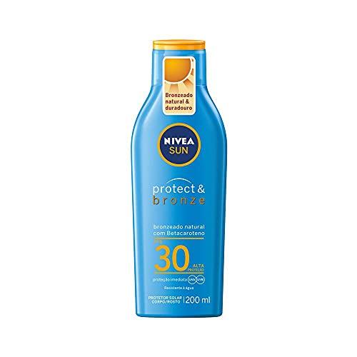 Protetor Solar Nivea Sun Protect & Bronze Fps30 200Ml, Nivea
