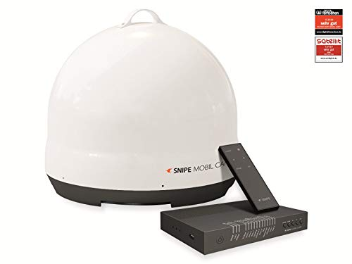 Selfsat Snipe Mobil Camp Single, weiß