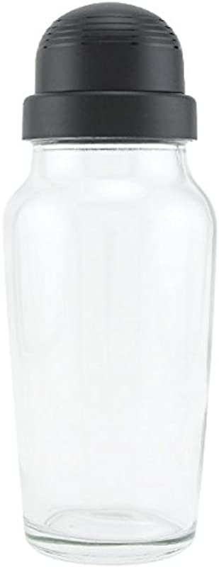 Libbey Glass Cocktail Shaker With Black Lid 19 75 Oz 1