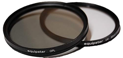 equipster UV + Polfilter Set für Sony DT 18-55mm f3.5-5.6 II SAM (SAL-1855-2)